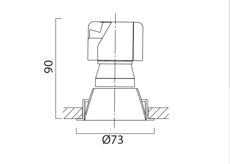 M-Flux M2 Line Drawing